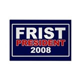 BILL FRIST PRESIDENT 2008 Rectangle Magnet