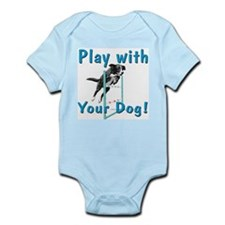 Play With Your Dog v10 Infant Bodysuit