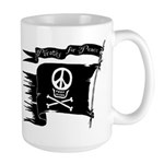 Pirates for Peace Larrrrge Mug