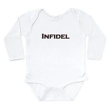Infidel Long Sleeve Infant Bodysuit