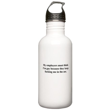 my employers Stainless Water Bottle 1.0L