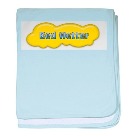 Bed Wetter baby blanket