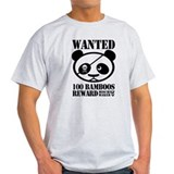 WANTED PANDA T-Shirt