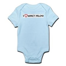I Love Nancy Pelosi Infant Creeper