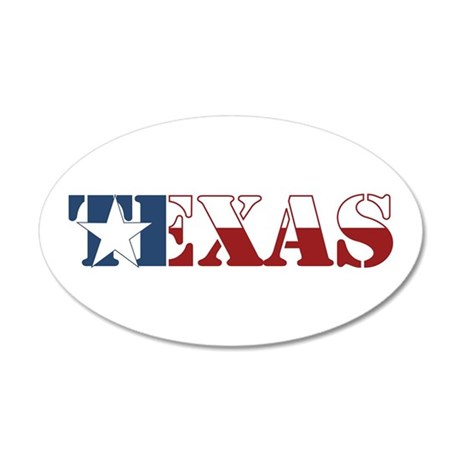 Texas 22x14 Oval Wall Peel