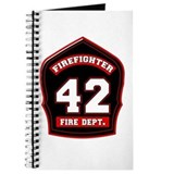 Unique Fireman Journal
