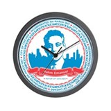 Mayor Rahm Wall Clock