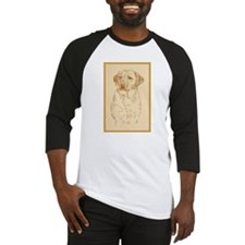 Yellow Labrador Retriever Baseball Jersey