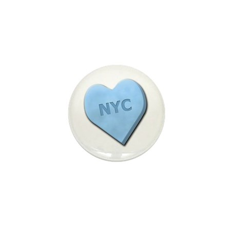 Sweetheart NYC Mini Button (10 pack)