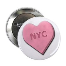 "Sweetheart NYC 2.25"" Button"