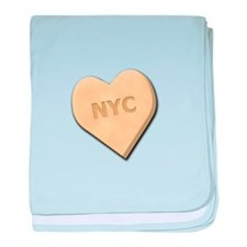 Sweetheart NYC baby blanket