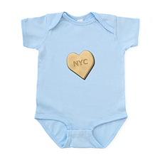 Sweetheart NYC Infant Bodysuit
