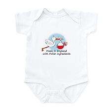 Stork Baby Poland England Onesie