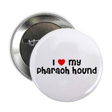 "I * my Pharaoh Hound 2.25"" Button (10 pack)"
