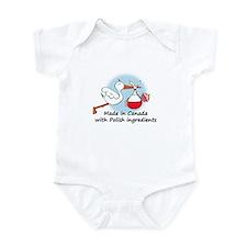 Stork Baby Poland Canada Onesie