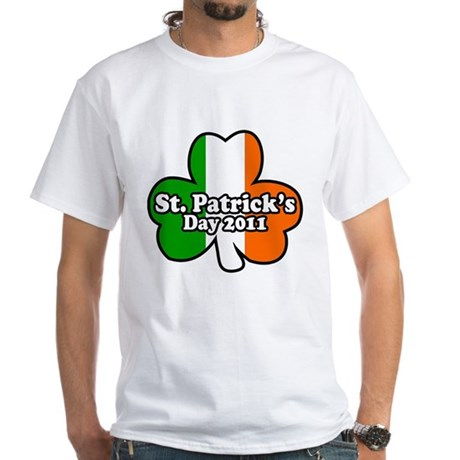 St. Patrick's Day 2011 White T-Shirt