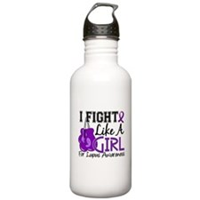 Fight Like A Girl Lupus Water Bottle