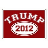 Donald Trump 2012 Banner