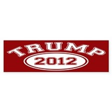 Donald Trump 2012 Bumper Sticker