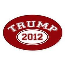 Donald Trump 2012 Decal