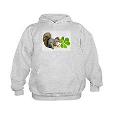 Shamrock Squirrel Hoodie