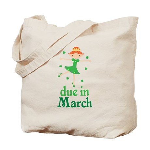 Irish Princess March Due Date Tote Bag