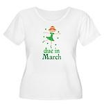 Irish Princess March Due Date Women's Plus Size Sc