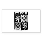 Czech Coat of Arms Bumper Stickers