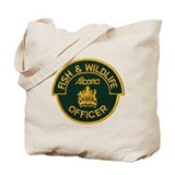 Alberta Game Warden Tote Bag