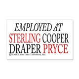 Employed at Sterling Cooper 22x14 Wall Peel