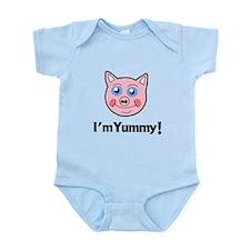 I'm Yummy Pig Infant Bodysuit