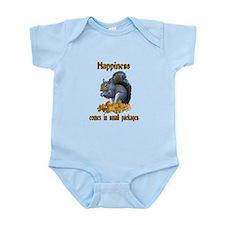 Squirrel Happiness Infant Bodysuit