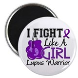 Fight Like A Girl Lupus Magnet