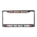 Ballet Teacher License Frame