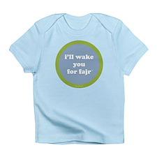 Fajr Infant T-Shirt (light blue + green)