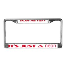 Unique The view License Plate Frame