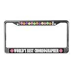 Choreographer License Frame