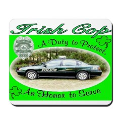 IRISH COP Mousepad