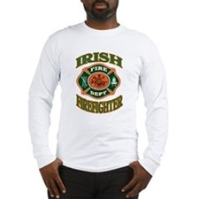 IRISH FIREFIGHTER Long Sleeve T-Shirt