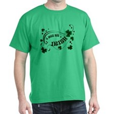 A Wee Bit Irish Shamrocks T-Shirt