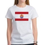 French Polynesia Flag Tee