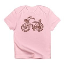 Retro Pink Bike Infant T-Shirt