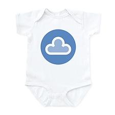 White Cloud Symbol Infant Bodysuit