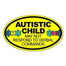 Autism Child Car Decal Decal