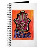 Spiral Hamsa Peace Journal