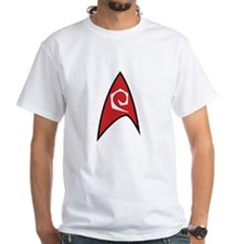 Star Trek TOS Engineer Badge Shirt
