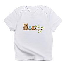 Boy Owl Family Infant T-Shirt