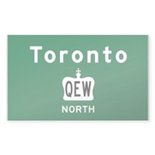 Toronto QEW Decal