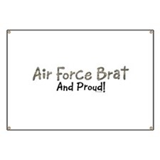 Proud Air Force Brat Banner
