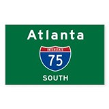 Atlanta 75 Decal